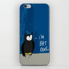 Bat Owl ... iPhone & iPod Skin
