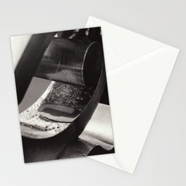 Droplets on Metal Stationery Cards