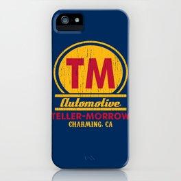 Teller-Morrow iPhone Case