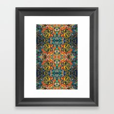 Hand Painting No. 5 Framed Art Print