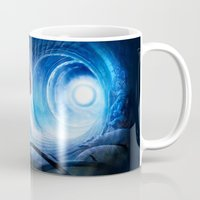 doctor who Mugs featuring Doctor Who by Joe Roberts