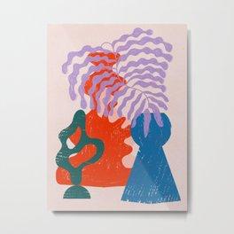 Warmly Patterning Metal Print