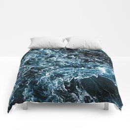 Wrath of the Dark Tempest Ocean Comforters