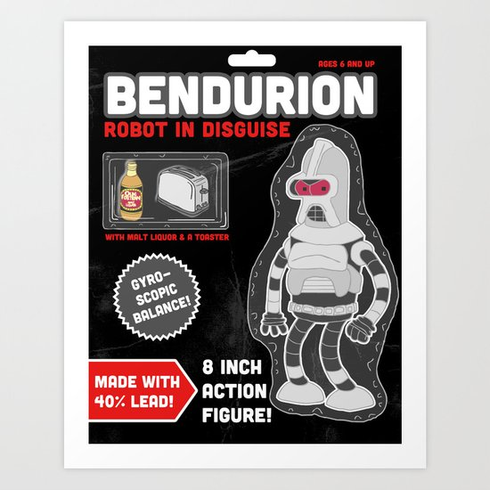 Bendurion: Robot in Disguise Art Print