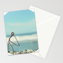 Outing On The Beach Stationery Cards