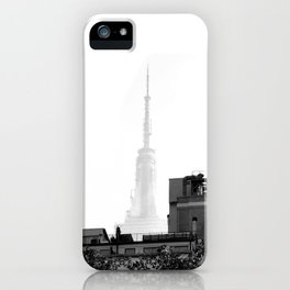 Spire of the Empire NYC iPhone Case