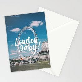 London Baby! Stationery Cards