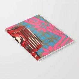Pink Border Cap Notebook