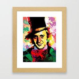 WILLY WONKA Framed Art Print
