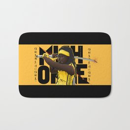 MICHONNE - THE WALKING DEAD MASHUP KILL BILL Bath Mat