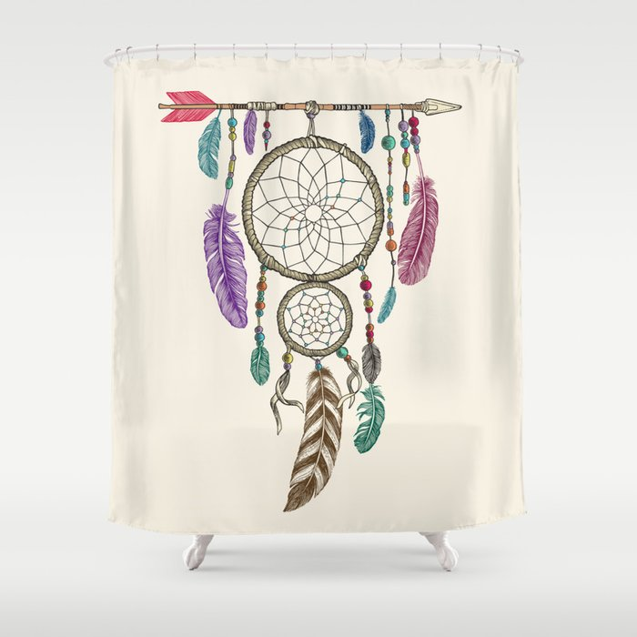 Big Dream Catcher Shower Curtain