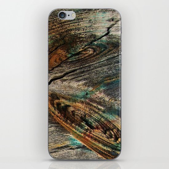 Wild Wood iPhone & iPod Skin