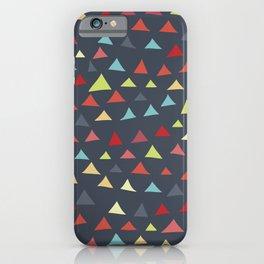 mod multi colored triangles iPhone Case