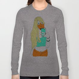 Duck Face Long Sleeve T-shirt
