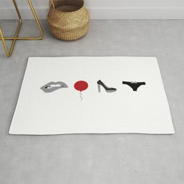 Rocky Horror Picture Show Icons Rug