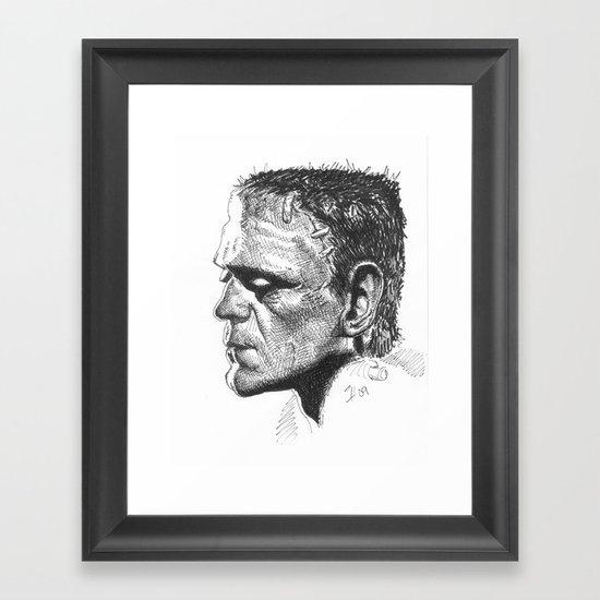 Boris Karloff - Frankenstein's Monster Framed Art Print