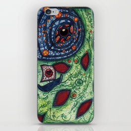 Saint Adolph Sailing On The Sea of Na-Gig iPhone Skin