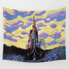 Our Monument To Each Pressing Memory Wall Tapestry