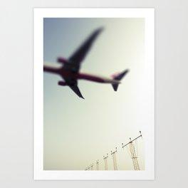 Flight4 Art Print