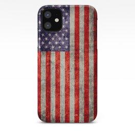 Antique American Flag iPhone Case
