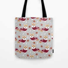 Corgis team spirit Tote Bag