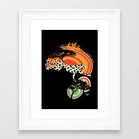 cheetah Framed Art Prints featuring Cheetah by Dimitra Tzanos