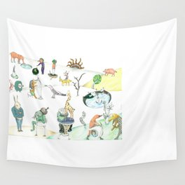 Inspired by Bosch Wall Tapestry