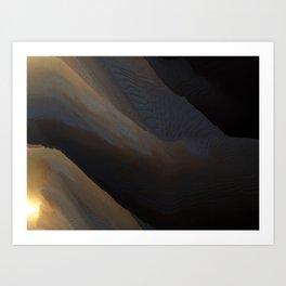 Mountain Sunset #44 Art Print