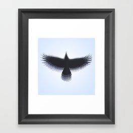 5.0.1 - Blue Framed Art Print