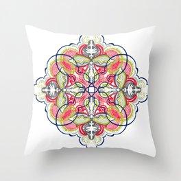Segmentation #1 Throw Pillow