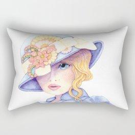 Violet Eyes Rectangular Pillow