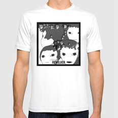 Revolver Mens Fitted Tee White SMALL