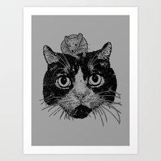 Unusual Friendship  Art Print