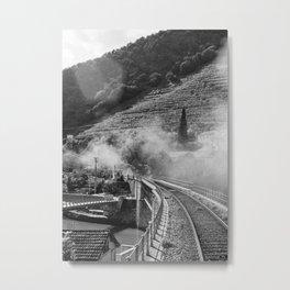 On the railway Metal Print