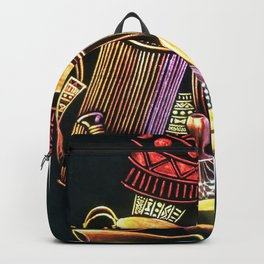 African Musical Instrument Collection Backpack