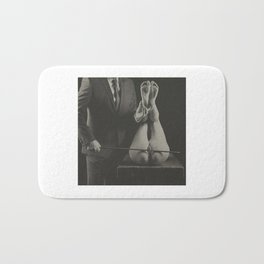 Photography nude Vintage Spanking Art Bath Mat