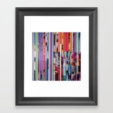 STRIPES11 Framed Art Print