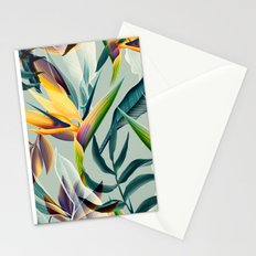 Tropical Flower Pattern Stationery Cards