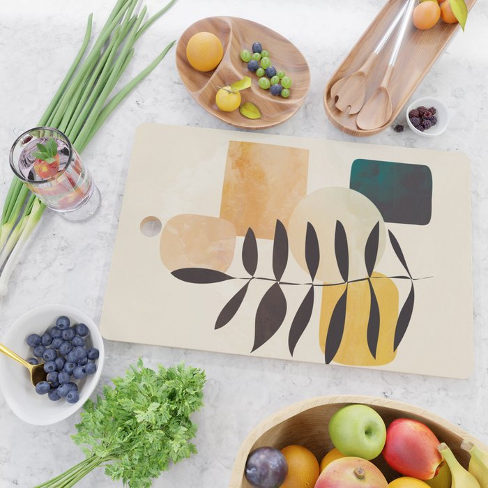 Abstract Elements 20 Cutting Board