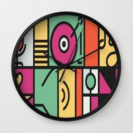 Muisc Wall Clock