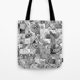 Doodling Together #6 Tote Bag