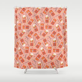 Pocky Time Shower Curtain
