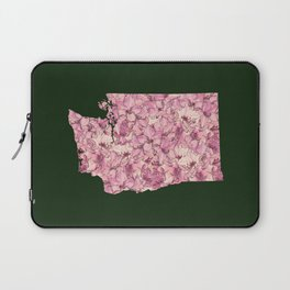 Washington in Flowers Laptop Sleeve