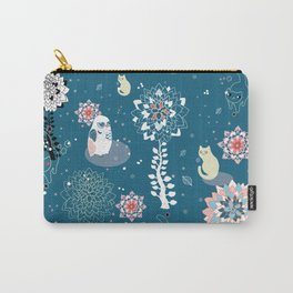 baby animals' reunion Carry-All Pouch