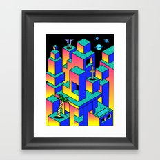Utopia 6 Framed Art Print