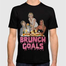 #BRUNCH GOALS T-shirt