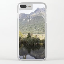 Mirror Lakes Clear iPhone Case