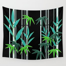 Bamboo Stalks Wall Tapestry
