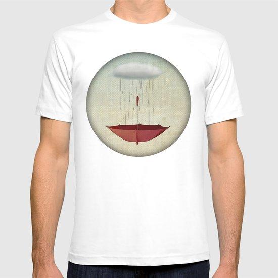 embracing the rain T-shirt