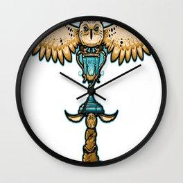Magic Totem Wall Clock